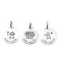 Medalles disponibles per la polsera de Gràcies senyoreta